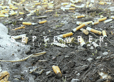 dirt, September, cigarettes - random desktop wallpaper