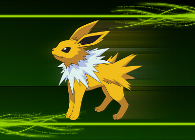 Pokemon, Jolteon - desktop wallpaper
