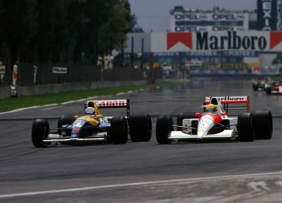 cars, Formula One, Ayrton Senna, McLaren, Williams, Nigel Mansell - related desktop wallpaper