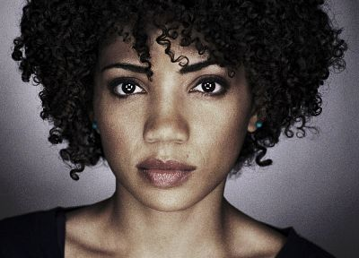 black people, actress, curly hair, Jasika Nicole - random desktop wallpaper