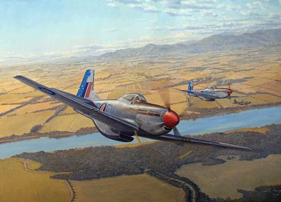 aircraft, World War II - desktop wallpaper