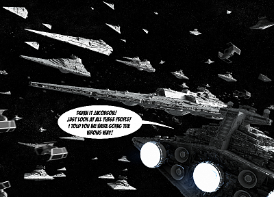 Star Wars, Tie fighters, Star Destroyer - random desktop wallpaper