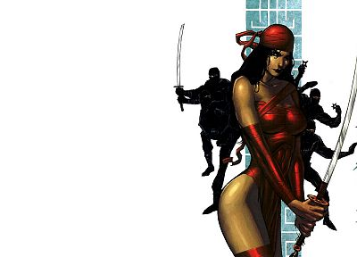 comics, Elektra, Marvel Comics - random desktop wallpaper
