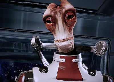 screenshots, Mass Effect 2, Mordin Solus - random desktop wallpaper