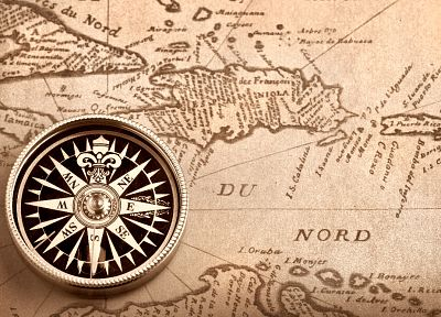 maps, compasses - random desktop wallpaper