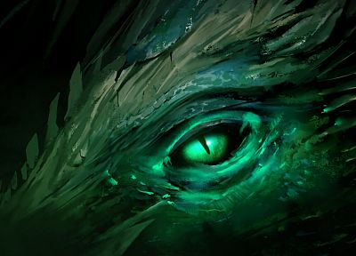 eyes, dragons, Guild Wars, Guild Wars 2 - desktop wallpaper