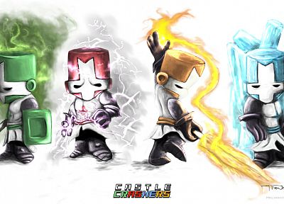 Castle Crashers - random desktop wallpaper