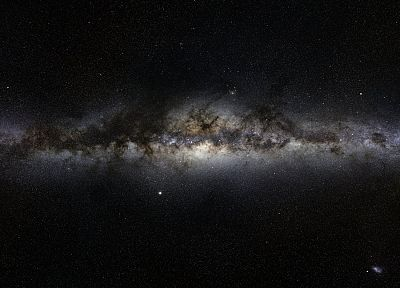outer space, galaxies, Milky Way - random desktop wallpaper