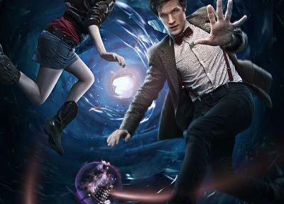 Matt Smith, Karen Gillan, Amy Pond, Eleventh Doctor, Doctor Who - related desktop wallpaper
