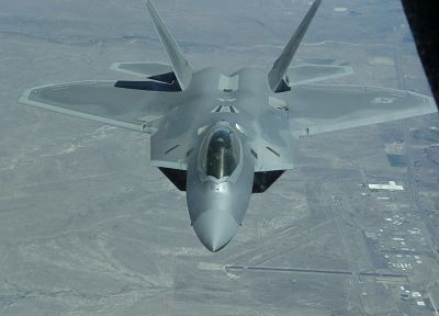 aircraft, F-22 Raptor, vehicles, US Air Force - desktop wallpaper
