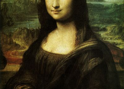 paintings, Mona Lisa, artwork - random desktop wallpaper