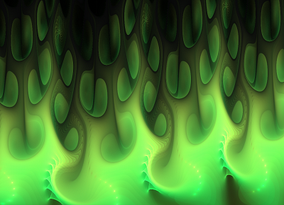 green, fractals, slime - random desktop wallpaper