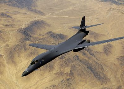 aircraft, military, bomber, vehicles, B1 Lancer - random desktop wallpaper