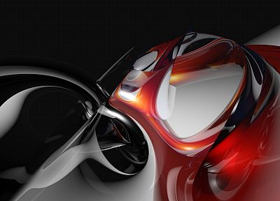 abstract, black, red - related desktop wallpaper