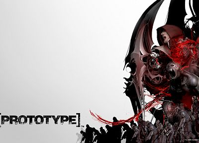 video games, 3D renders, Prototype (video game), Activision, mutation - related desktop wallpaper
