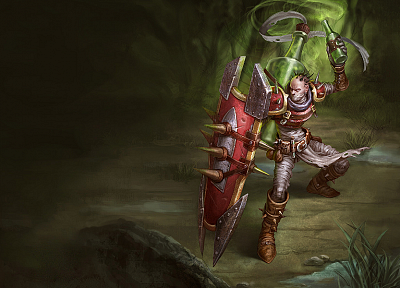 League of Legends, Singed - related desktop wallpaper