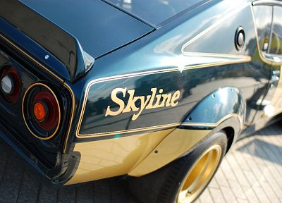 cars, vehicles, Nissan Skyline, classic cars - related desktop wallpaper