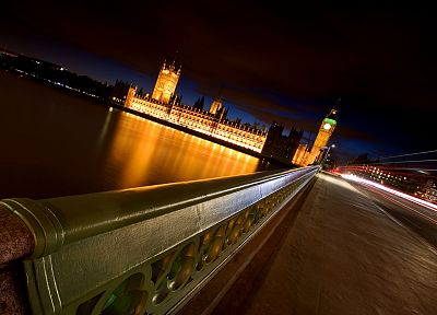 cityscapes, London, urban, buildings, long exposure - random desktop wallpaper