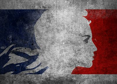 France, flags, Marianne (Historical Figure) - random desktop wallpaper