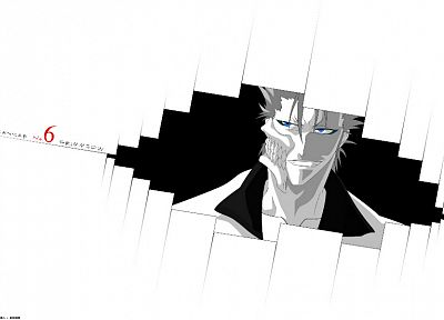 Bleach, Espada, Grimmjow Jaegerjaquez, white background - random desktop wallpaper
