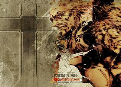 Metal Gear Solid 4 - desktop wallpaper