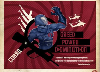 G.I. Joe, Cobra Commander - desktop wallpaper