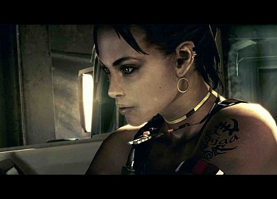 video games, Resident Evil, Sheva Alomar - related desktop wallpaper