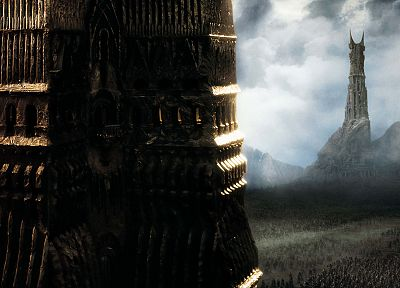 movies, The Lord of the Rings, Isengard, The Two Towers - random desktop wallpaper