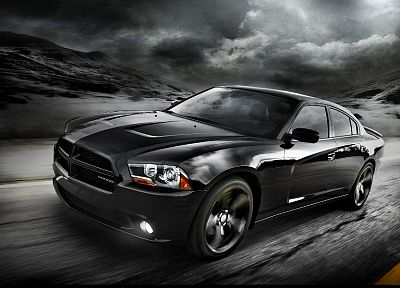 streets, cars, roads, Dodge Charger - related desktop wallpaper
