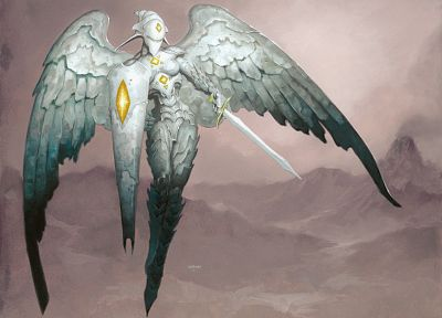 angels, Magic: The Gathering - random desktop wallpaper
