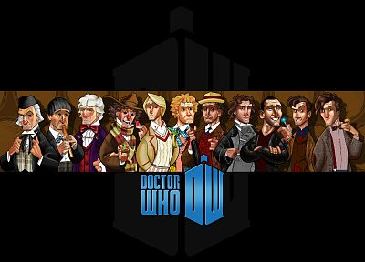 Doctor Who - random desktop wallpaper