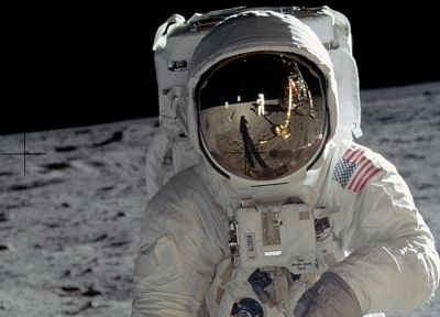 outer space, astronauts, Moon Landing - random desktop wallpaper