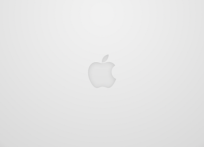 minimalistic, Apple Inc., logos - desktop wallpaper