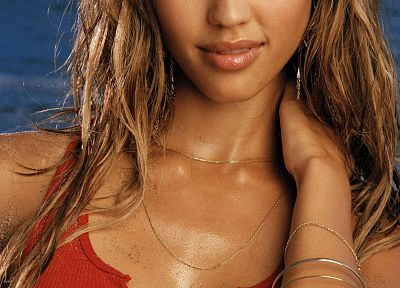 women, Jessica Alba - random desktop wallpaper