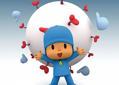 Pocoyo - random desktop wallpaper