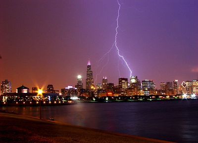cityscapes, architecture, weather, buildings, lightning - random desktop wallpaper