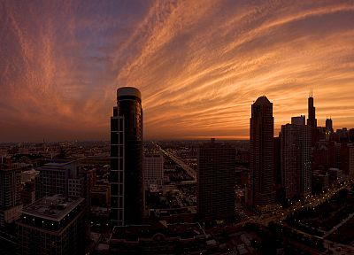 cityscapes, Chicago, urban, buildings, skyscapes - related desktop wallpaper