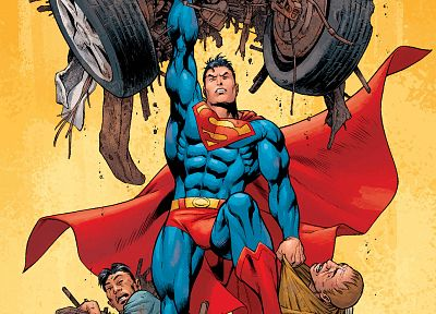 DC Comics, comics, Superman - random desktop wallpaper