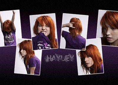 Hayley Williams, Paramore, women, music, redheads, celebrity - random desktop wallpaper