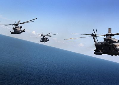aircraft, military, helicopters, pave low, vehicles - random desktop wallpaper