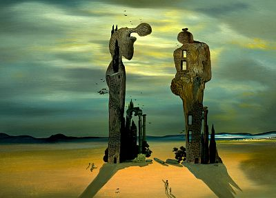 paintings, Salvador Dalí, artwork - random desktop wallpaper