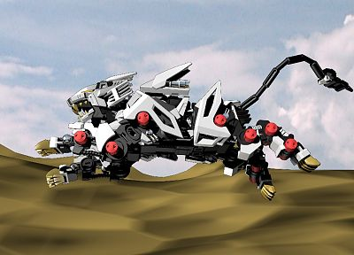 Zoids - random desktop wallpaper