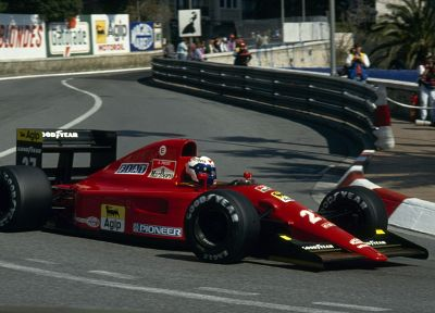 cars, Ferrari, Formula One, Monaco, vehicles, Alain Prost - desktop wallpaper