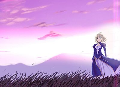 Fate/Stay Night, Saber, anime girls, Fate series - desktop wallpaper