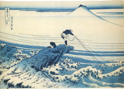 Katsushika Hokusai, Thirty-six Views of Mount Fuji - related desktop wallpaper