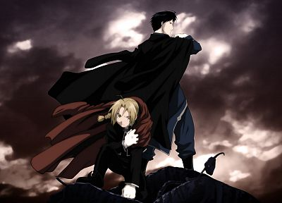Fullmetal Alchemist, Elric Edward, Roy Mustang, anime - related desktop wallpaper