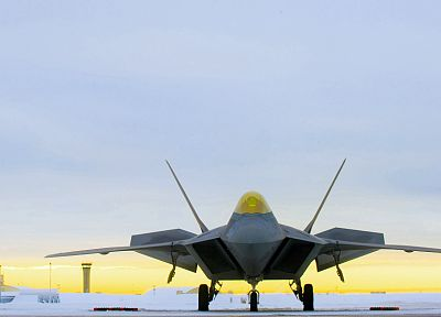 aircraft, military, F-22 Raptor, jet aircraft, fighters - related desktop wallpaper