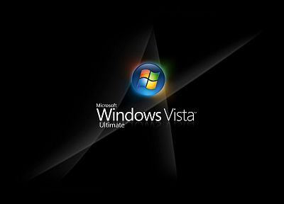Microsoft, Microsoft Windows, Windows Vista, logos - desktop wallpaper