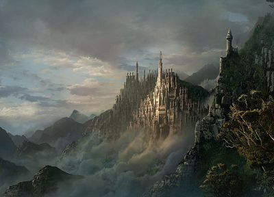 castles, fantasy art, artwork - random desktop wallpaper