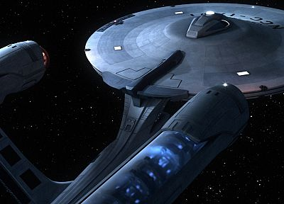 Star Trek, spaceships, USS Enterprise - random desktop wallpaper